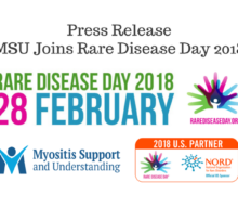 PRESS RELEASE: MSU Joins Rare Disease Day 2018