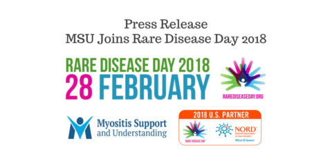 MSU Joins Rare Disease Day 2018, Press Release