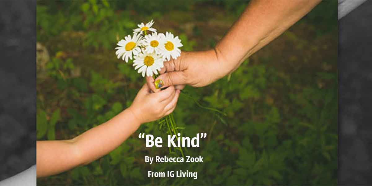 Be Kind By Rebecca Zook