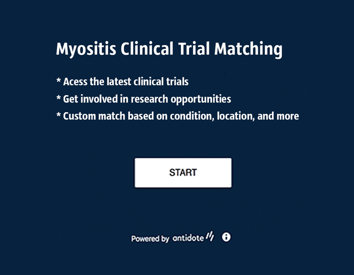 Myositis Clinical Trial Matching