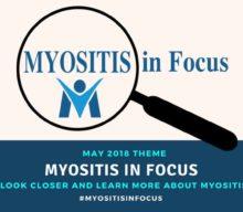 PRESS RELEASE: Myositis Awareness Month 2018