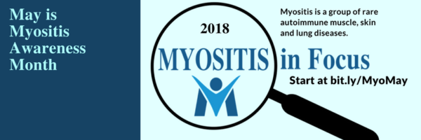 Myositis Awareness Month Facebook Cover