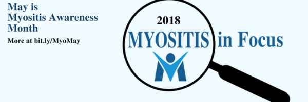 Myositis Awareness Month Facebook Cover,