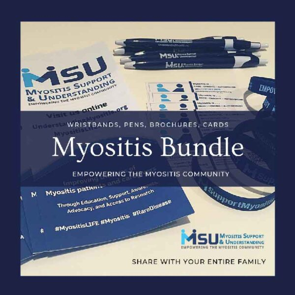MSU Myositis Gear bundle