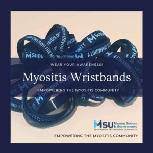 Myositis Awareness Wristbands
