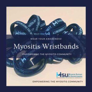 Myositis Awareness Wristbands