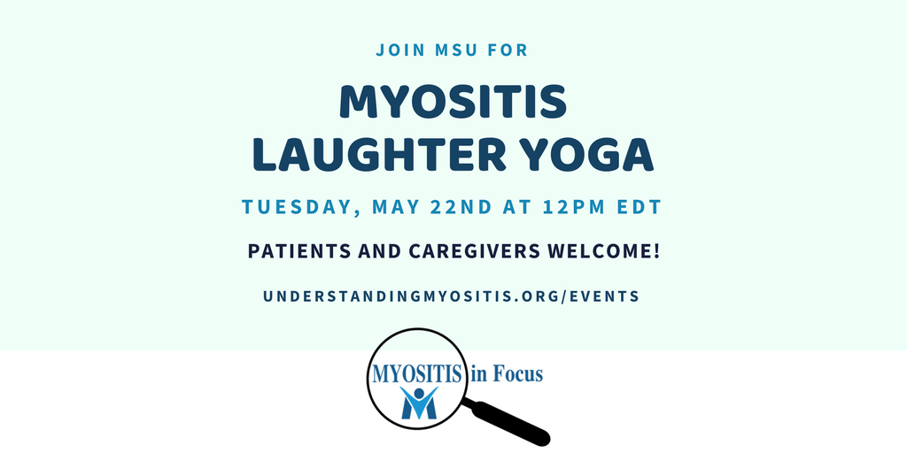 MSU Myositis Laughter Yoga