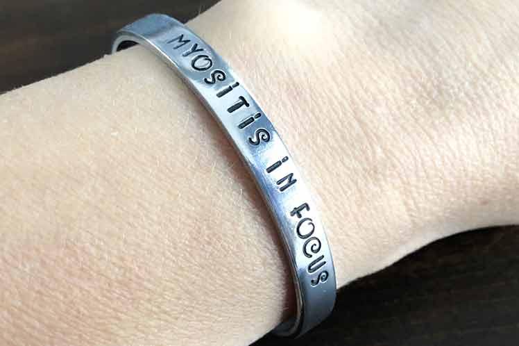 Myositis in Focus Bracelet
