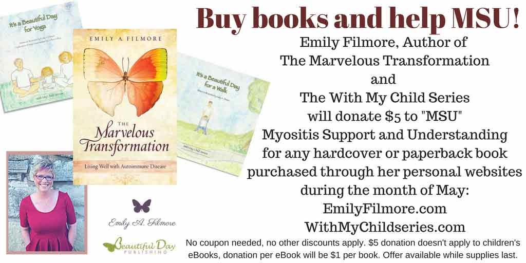 Author Emily A. Filmore book fundraiser