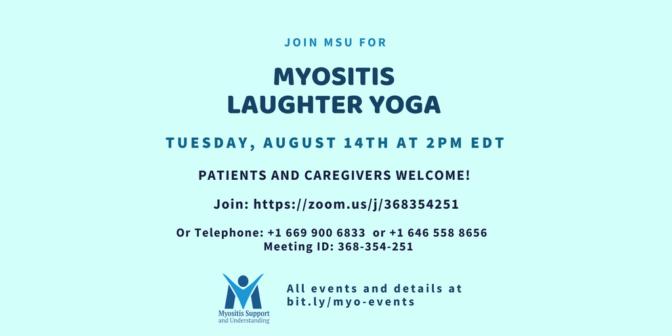 Myositis Laughter Yoga
