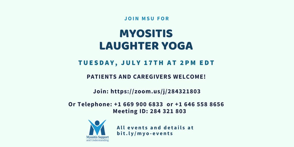 Myositis Laughter Yoga