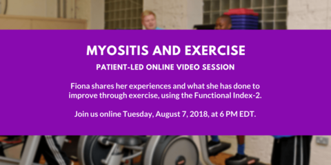 Myositis and Exercise with Fiona