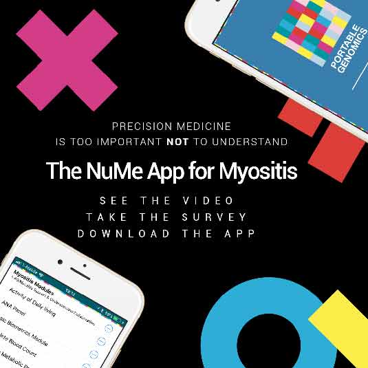 PG, MSU App for myositis