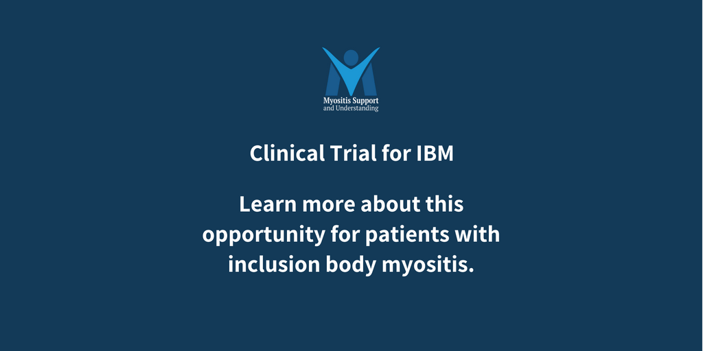 Inclusion body myositis clinical trial