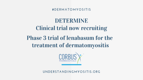 Phase 3 trial of lenabasum for Dermatomyositis now recruiting
