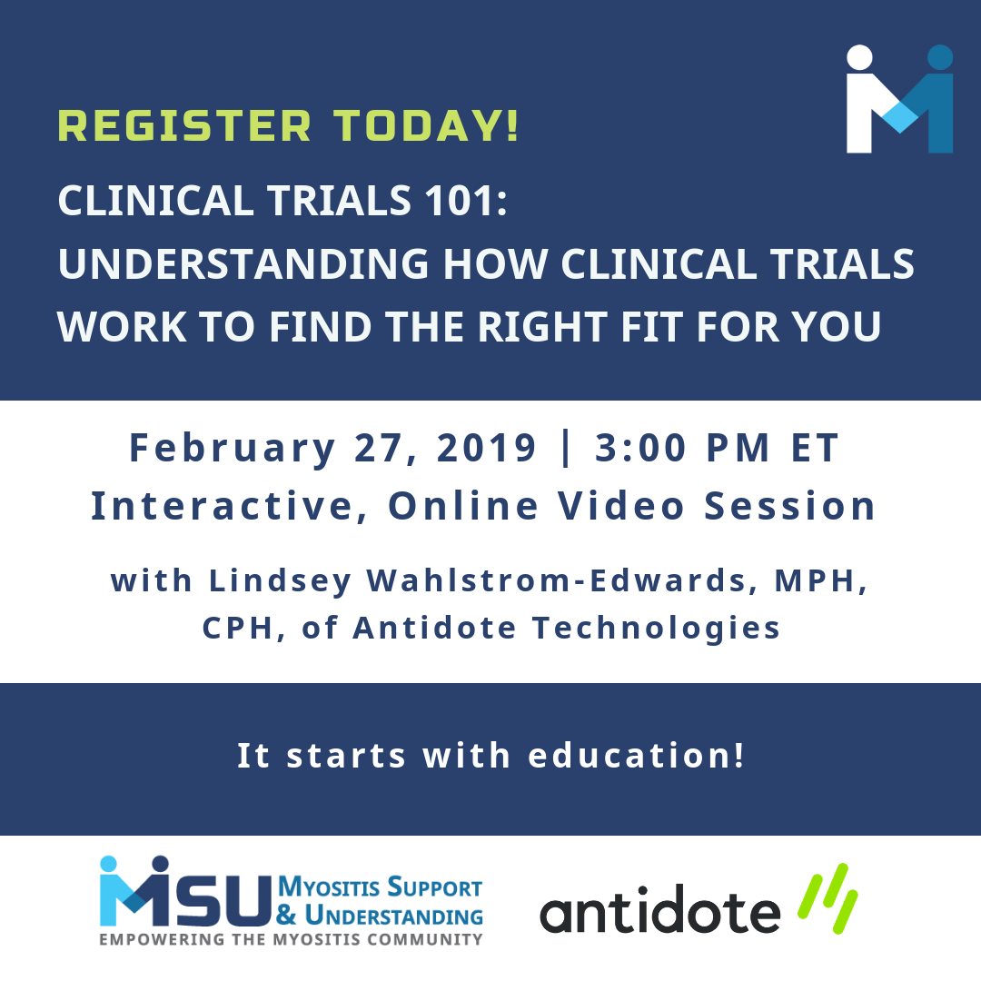 Register today for Clinical Trials 101: Understanding how clinical trials work to find the right fit for you