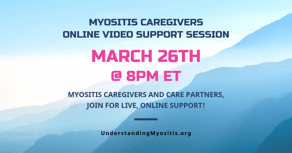 Caregivers Live Online video support