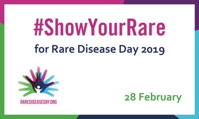 #ShowYourRare for Rare Disease Day