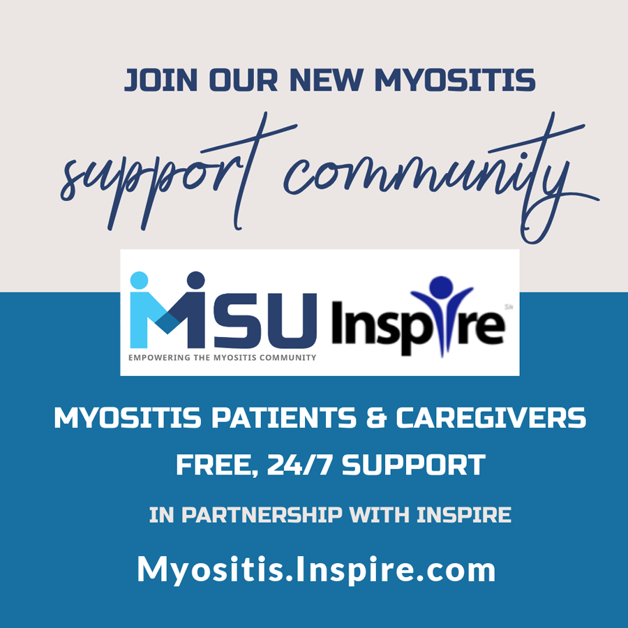 Myositis Support Community in partnership with Inspire