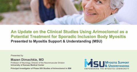 An Update on the Clinical Studies Using Arimoclomol as a Potential Treatment for Sporadic Inclusion Body Myositis