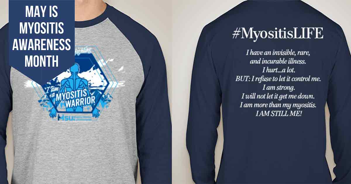 2019 #MyositisLIFE Shirt