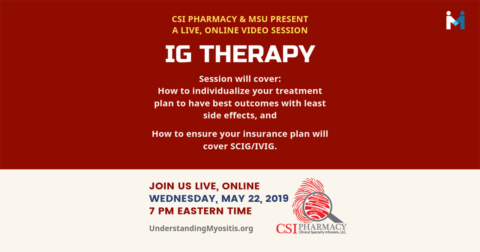 IG Therapy with CSI Pharmacy