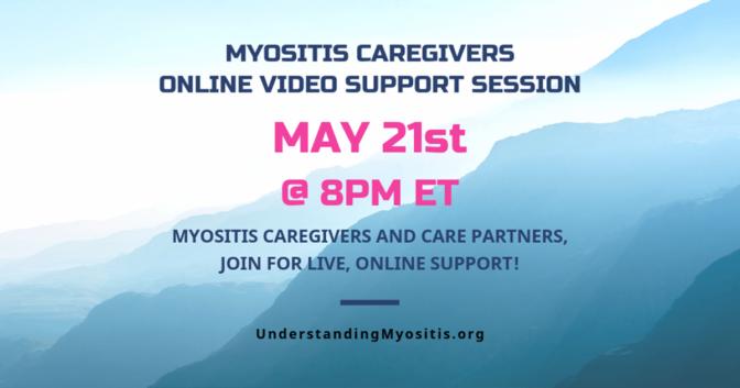 Myositis Caregiver Video Support Session