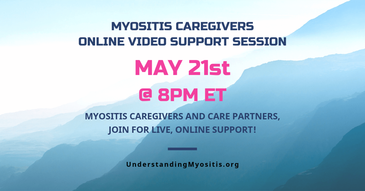 Myositis Caregiver Video Support Session