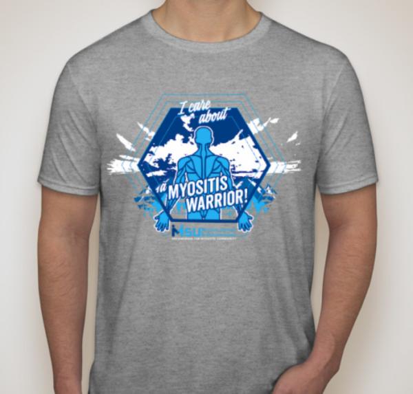 2019 #MyositisSuperHero Shirt