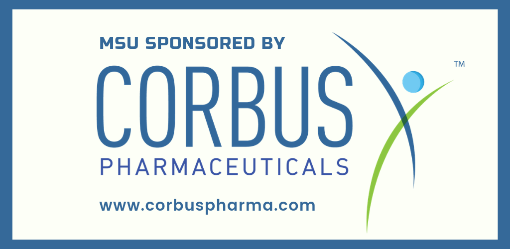 MSU is sponsored by Corbus Pharmaceuticals