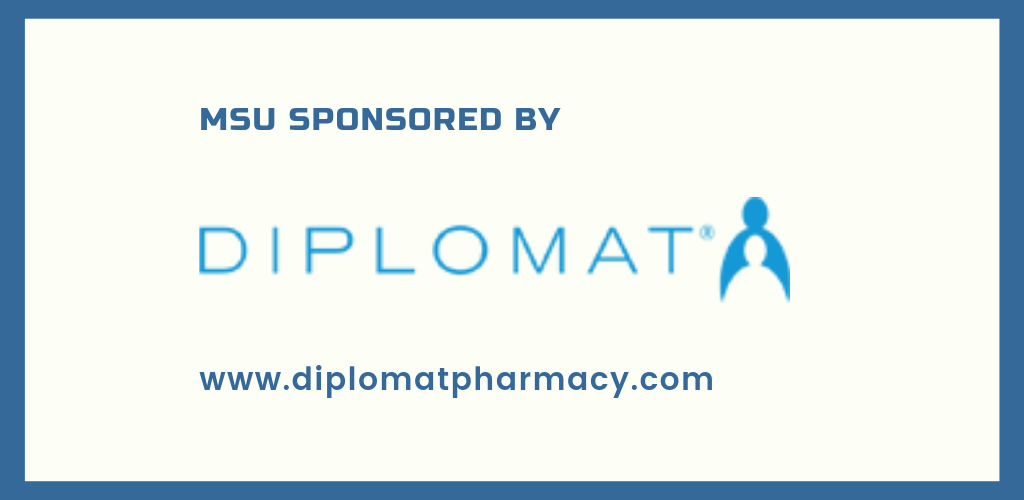 MSU is sponsored in part by Diplomat