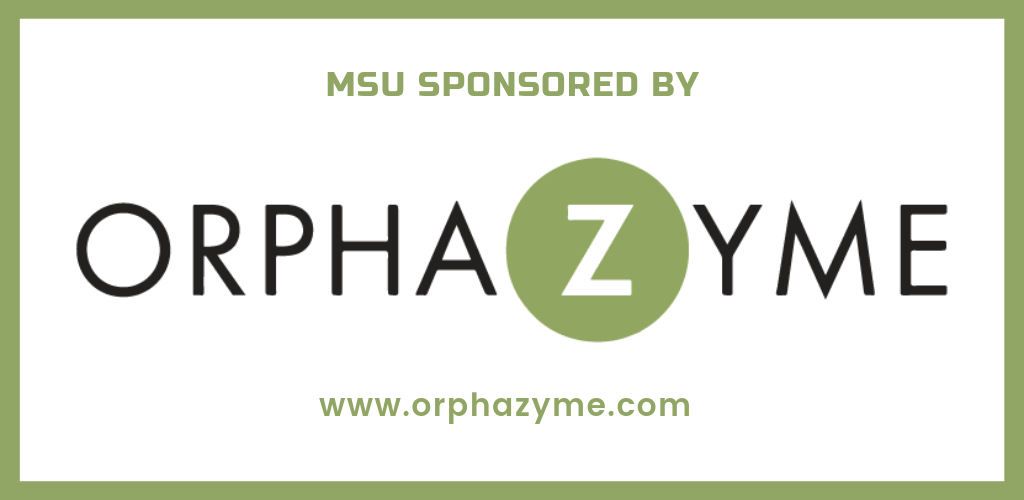 MSU is sponsored by Orphazyme A/S