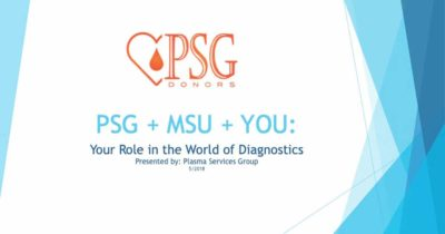 PSG+MSU+You: Your Role in the World of Diagnostics