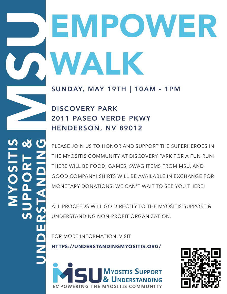 Myositis Empower Walk 2019