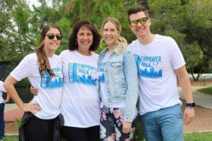 Myositis Empower Walk, The Landman Family