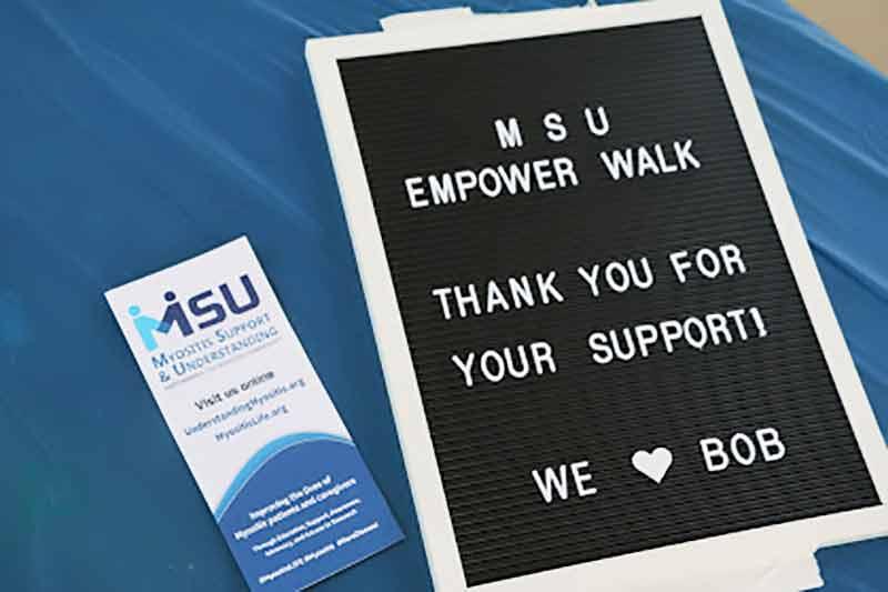 Myositis Empower Walk
