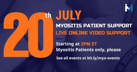 Myositis Patient Online Video support session