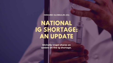National Ig Shortage