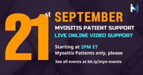 Myositis Patient Video Support Session