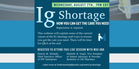 IG Shortage, How you can get the care you need