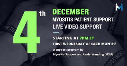 Myositis Patient Video Support Session
