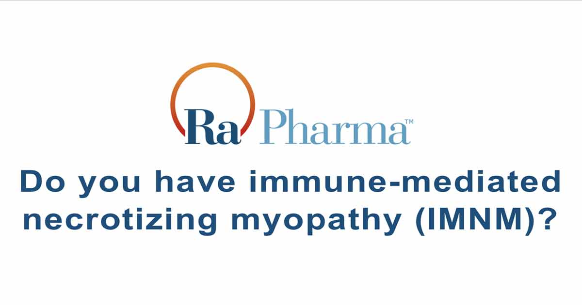 RA101495-02.202: A Phase 2 Study of Zilucoplan in Patients with Immune-Mediated Necrotizing Myopathy