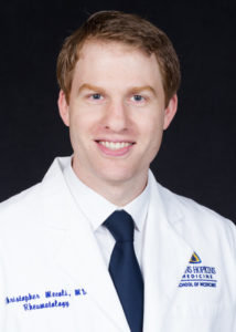 Dr. Chris Mecoli of Johns Hopkins Myositis Center