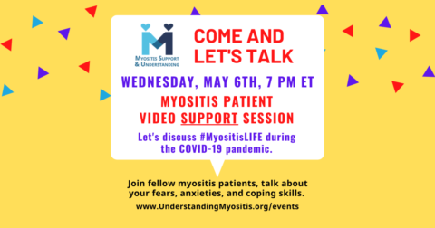 COVID-19 and Myositis, Patient Video Support Session