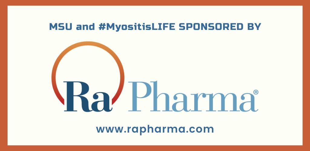 Ra Pharma, a 2020 sponsor of MSU and Myositis LIFE
