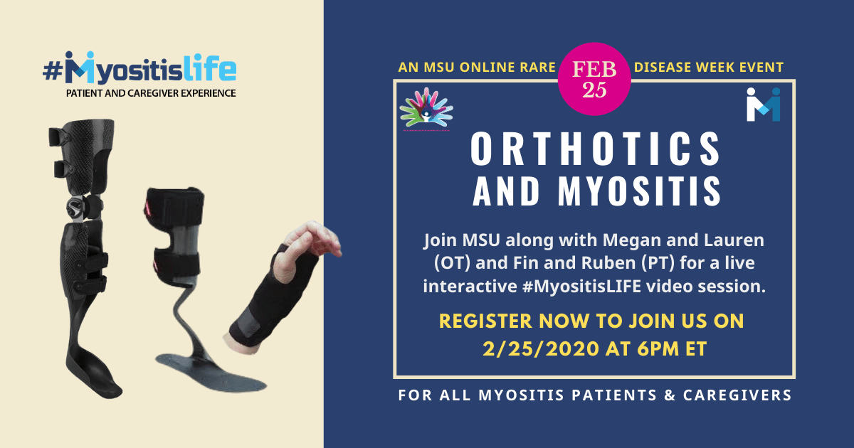 Orthotics and Myositis with Megan and Lauren