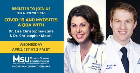 COVID-19 and Myositis, a Q&A Webinar