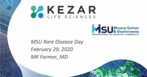 "An Introduction to the PRESIDIO Clinical Trial of KZR-616 for the Treatment of Polymyositis and Dermatomyositis"" with Dr. MK Farmer of Kezar Life Sciences"