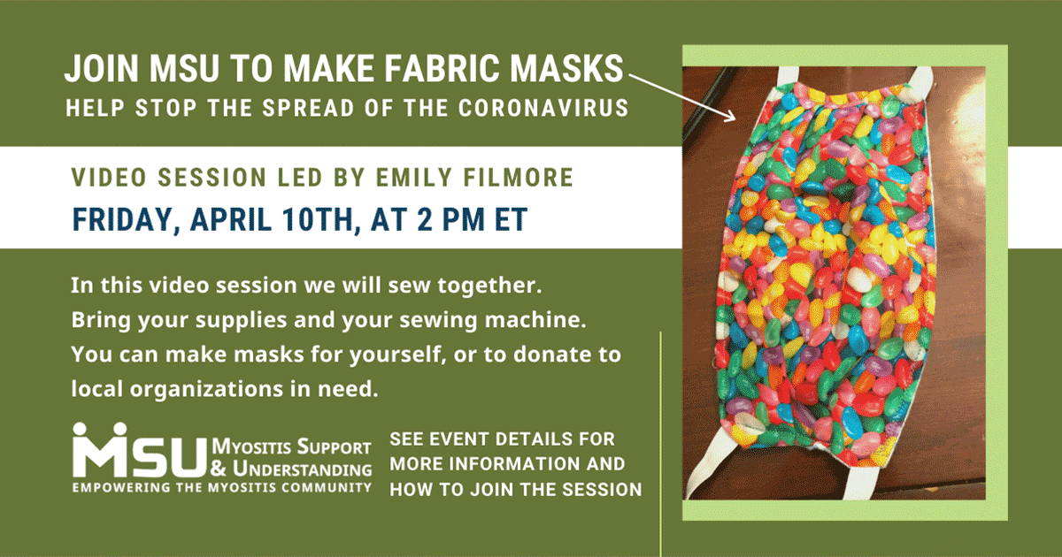 Join MSU to sew fabric masks