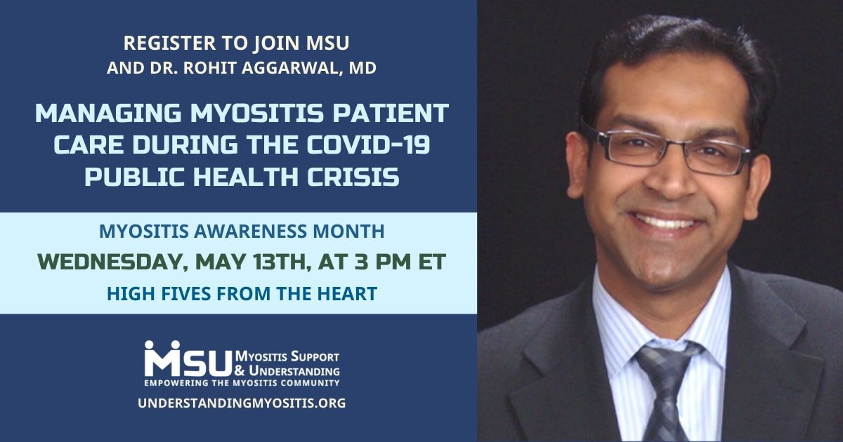 Managing Myositis Patient Care During the COVID-19 Public Health Crisis